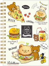 Rilakkuma Notebook: Spending a delicious time with you