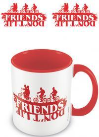 Coloured Inner Mug Friends Don't Lie