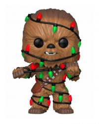 Chewbacca with Lights Holiday Pop! Vinyl Figure Bobble Head