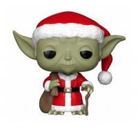 Santa Yoda Holiday Pop! Vinyl Figure Bobble Head