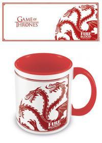 Coloured Inner Mug Targaryen