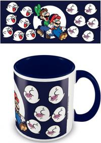 Super Mario World Coloured Inner Mug Boos