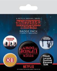Pin Badges 5-Pack Upside Down