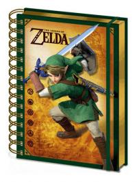 3D Wiro Notebook A5 Link