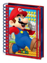 Super Mario 3D Wiro Notebook A5 Mario