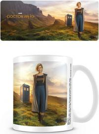 Doctor Who 13th Doctor Coffee Mug