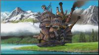 Howl's Moving Castle Wooden Wall Art