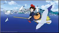 Kiki's Delivery Service Wooden Wall Art