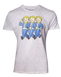 Three Vault Boys