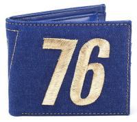 Fallout 76 Bifold Wallet Vault 76 Vintage Denim