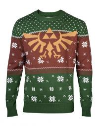 Legend of Zelda Knitted Christmas Sweater Logo