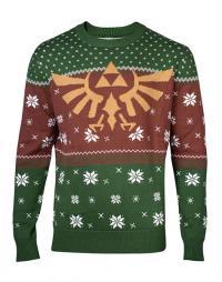 Legend of Zelda Knitted Christmas Sweater Logo