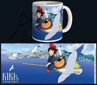 Kiki's Delivery Service Mug Flying
