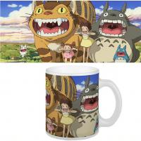 Totoro Mug Nekobus & Totoro