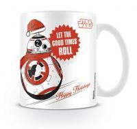 Star Wars BB8 Let the Good Times Roll Xmas Mug