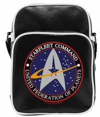Star Trek Starfleet Small Vinyl Messenger Bag