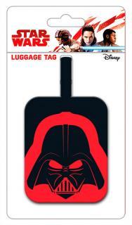 Darth Vader Helmet Luggage Tag