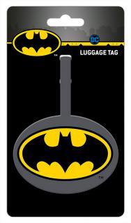 Batman Logo Luggage Tag