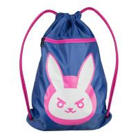 Overwatch D Va Bunny Cinch Bag