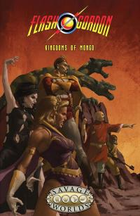 Flash Gordon RPG: Kingdoms of Mongo Softcover