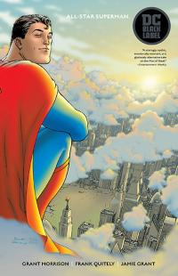 All Star Superman DC Black Label Edition