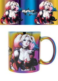 Harley Quinn Metallic Mug Kiss