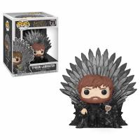 Tyrion Sitting on Iron Throne Deluxe Pop! Vinyl Figure