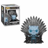 Night King Sitting on Iron Throne Deluxe Pop! Vinyl Figure