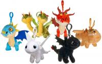 How to Train Your Dragon 3 Plush Keychain 10 cm