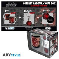 Game of Thrones Targaryen Gift Box: Mug, Keychain & Badges