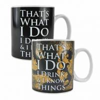 Heat Changing Mug: Tyrion Lannister I Drink & I Know Things