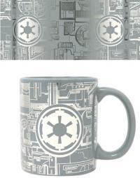 Foil Mug Death Star Surface
