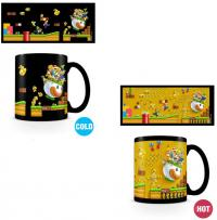 Heat Change Mug Super Mario Gold Coin Rush