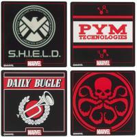 Marvel Silicon Coaster Set 1