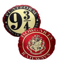 Harry Potter Platform 9 3/4 Round Cushion