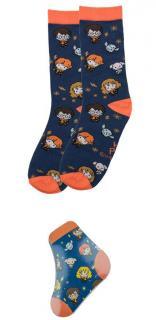 Harry Potter Magic Socks Starry Night Kawaii
