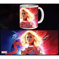 Captain Marvel Mug Glowing