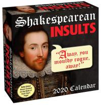 Shakespearean Insults 2020 Day-to-Day Calendar