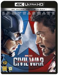 Captain America 3: Civil War (4K Ultra HD+Blu-ray)