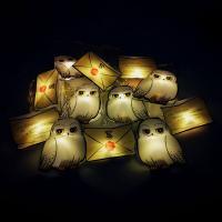 Harry Potter 2D String Lights Letter of Acceptance & Hedwig