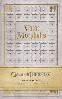Valar Morghulis Hardcover Ruled Journal