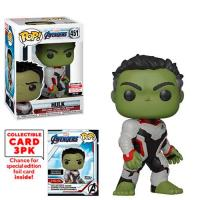 Avengers Endgame Hulk Pop! Vinyl Figure with Collector Cards