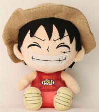 Plush Figure Luffy 25 cm