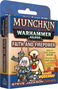 Munchkin: Warhammer 40k - Faith and Firepower Expansion