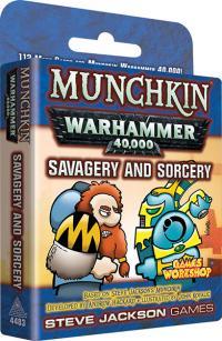 Munchkin: Warhammer 40k - Savagery & Sorcery