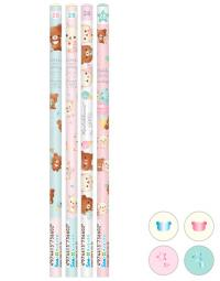 Rilakkuma Pencils: Happy Ice Cream