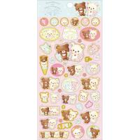 Rilakkuma Stickers: Happy Ice Cream