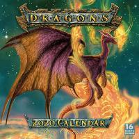 Ciruelo Dragons 2020 Wall Calendar