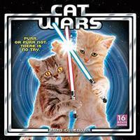 Cat Wars 2020 Wall Calendar
