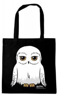 Harry Potter Hedwig Tote Bag Black
